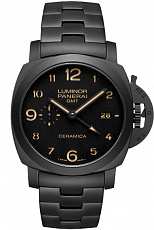 Часы Officine Panerai Luminor 1950 TUTTONERO - 3 Days GMT Automatic Ceramica - 44mm