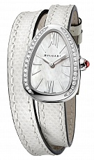 Часы Bvlgari Serpenti Steel with Diamonds