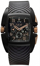 Часы Cyrus Kuros Chronograph Titanium Black DLC & Gold Limited Edition