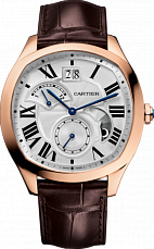 Часы DRIVЕ de Cartier watch, Large Date, Retrograde Second Time Zone and Day Night Indicator
