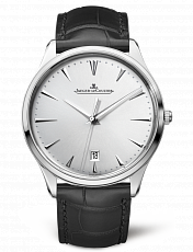Часы JAEGER LECOULTRE Master Ultra Thin Date Silver Dial