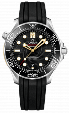 "Часы Omega Co-Axial Diver 42mm Master Chronometer Mens Watch ""James Bond"" Limited Edition"