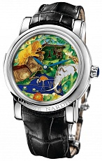 Часы U.N. Safari Jaquemarts Minute Repeater in Platinum