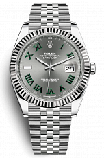Часы Rolex Datejust 41mm Wimbledon New 2020 126334